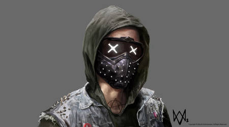 WATCH_DOGS 2 - The Wrench Mask by adijin