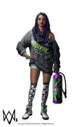 WATCH_DOGS 2 - SITARA Front