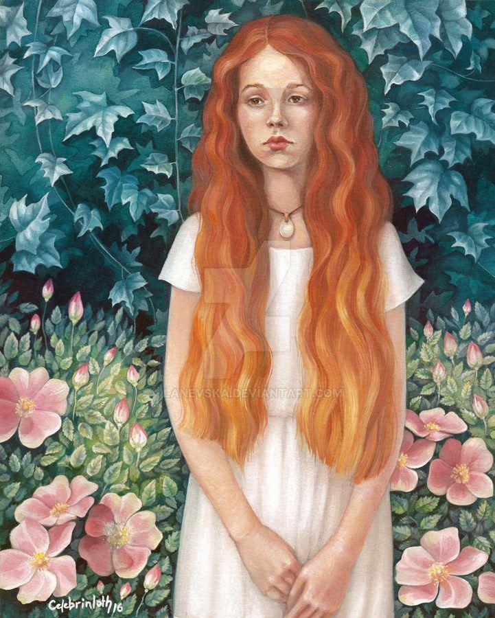 Sad Girl by Lanevska