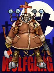 Wolfgang the Vampire Hunter by silentdan