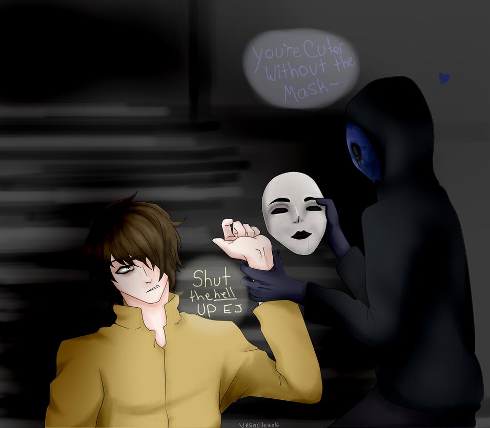 Masky and Eyeless Jack by Vesocile on DeviantArt