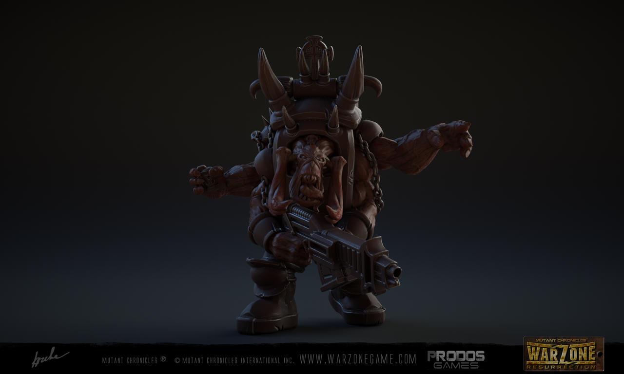 Warzone Resurrection Praetorian Behemoth by kazube