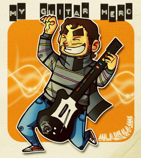 My Guitar Hero by cool-slayer
