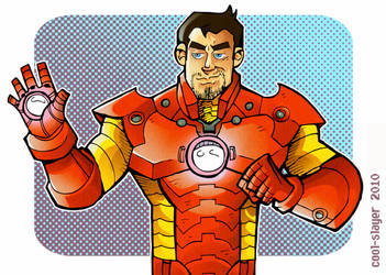 Iron Man by cool-slayer