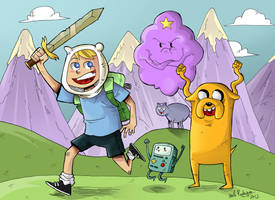 Adventure Time by cool-slayer
