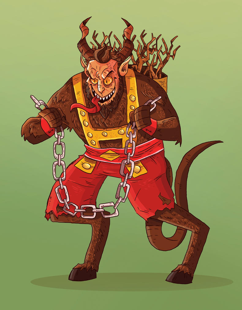 Krampus by cool-slayer