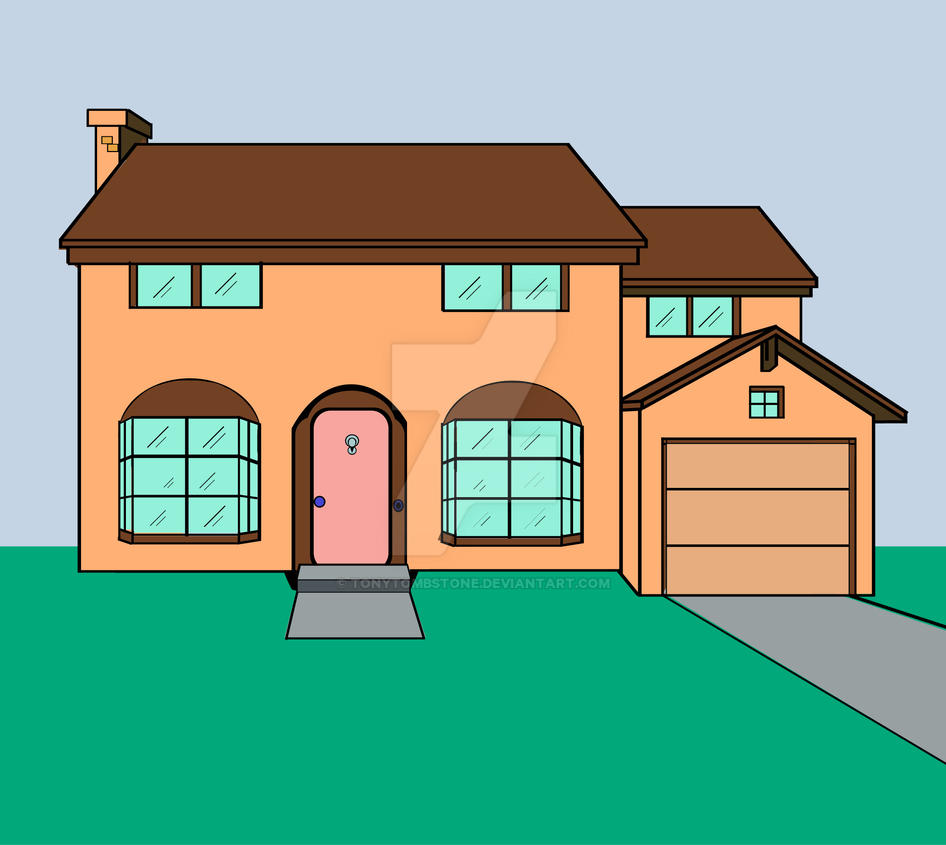 simpsons house by tonytombstone on deviantart tombstone vector logo version vector tombstone