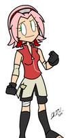 Ani-Girl: Sakura Haruno