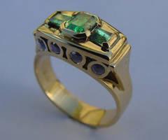Smaragdos by wibbledile