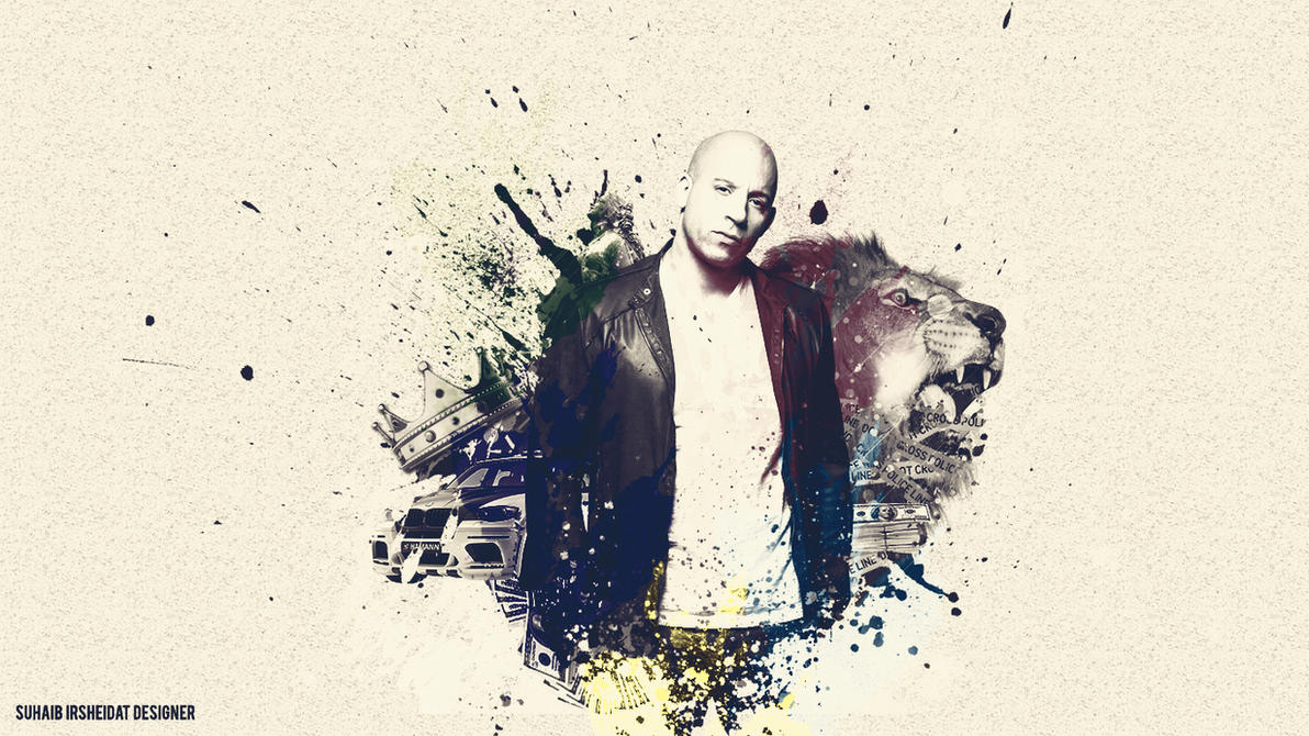Vin Diesel Wallpaper By LeonnelSoheb