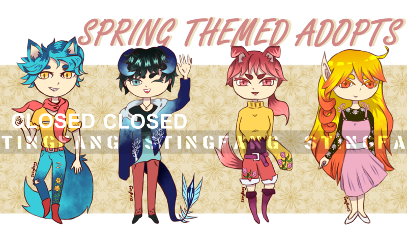 [OPEN] Spring Adopts by StingFang