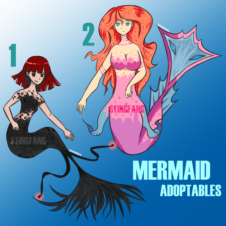 [Open] Mermaid Adopts Auction by StingFang