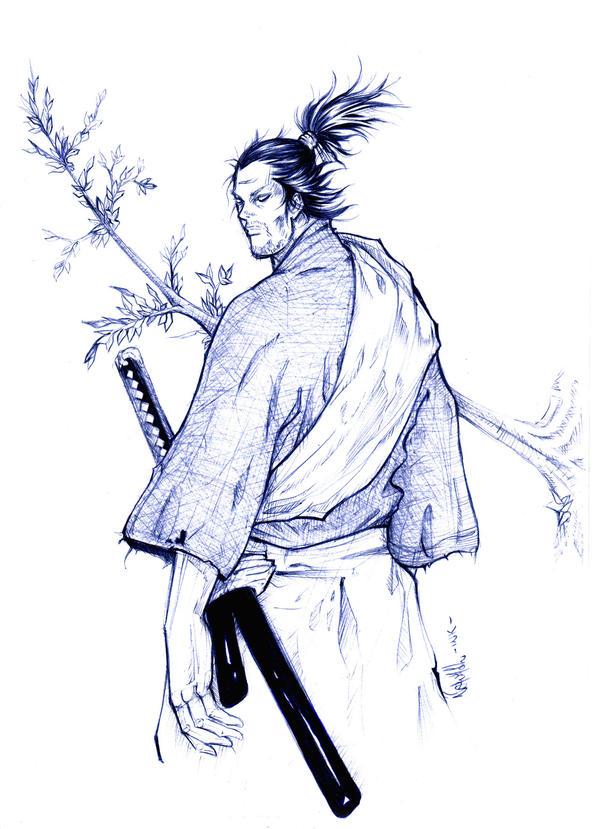Miyamoto Musashi Tattoo Designs