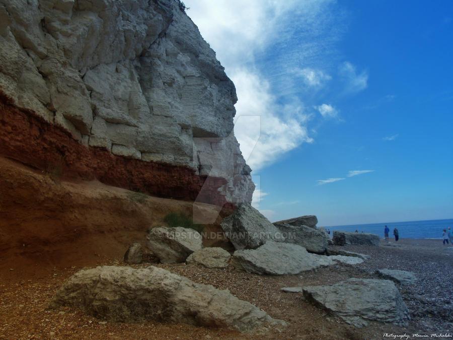 Hunstanton Cliffs by Lipston