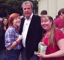 Meeting Jeremy Clarkson 3rd time.