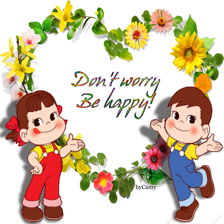 Don't Worry Be Happy Clip Art