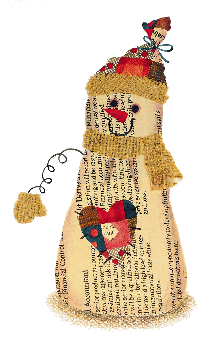 Paper Snowman by KmyGraphic