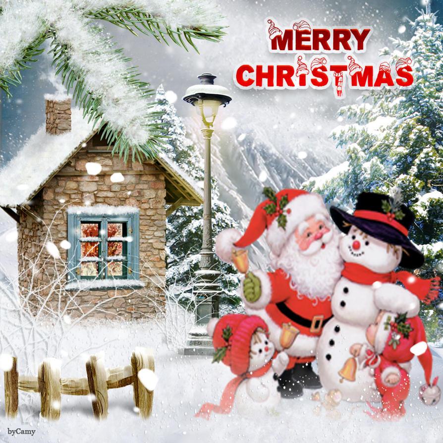 Santa is here by KmyGraphic on DeviantArt