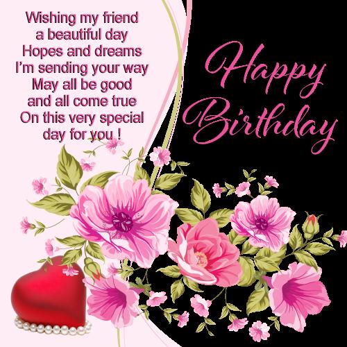Happy Birthday Friendship Cards ~ Happy birthday card by kmygraphic on deviantart