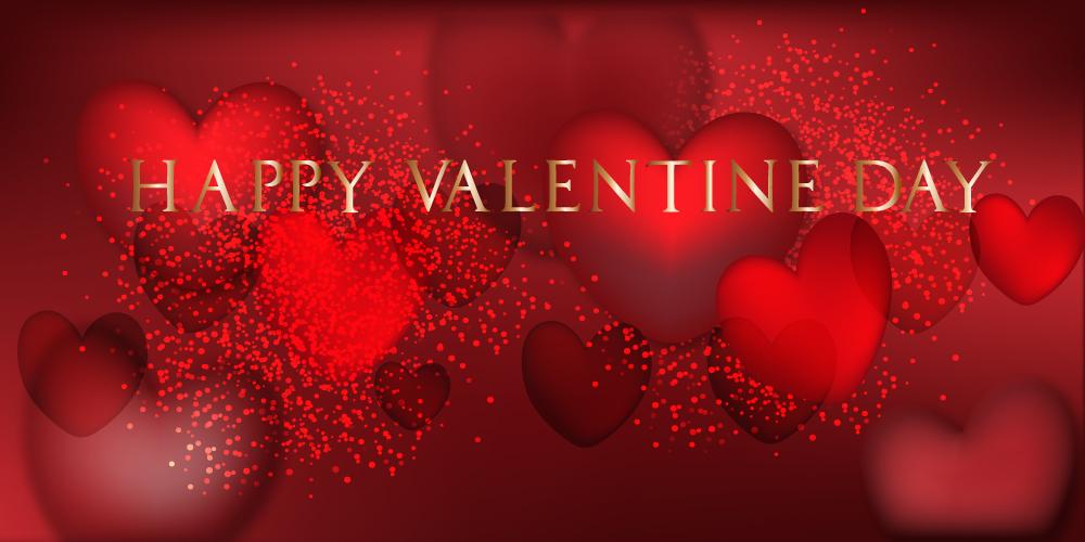Valentines Day Banner by KmyGraphic