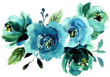 Blue flowers for you by KmyGraphic