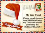 Christmas Postcard by KmyGraphic