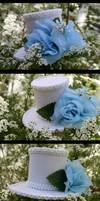 Tranquil Winter Mini Hat