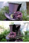 Lavender Wonky Tophat