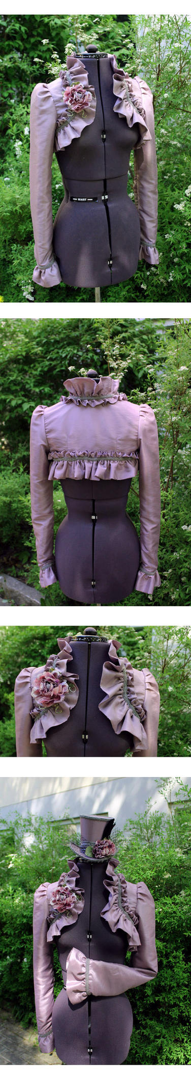 Lavender Bolero by ImperialFiddlesticks