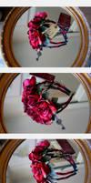 Gothic Rose Garden Headband