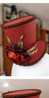 Autumnal Hymn Mini Wonky Top Hat