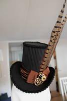 Mechanic's Evening Hat Mini Top Hat by ImperialFiddlesticks