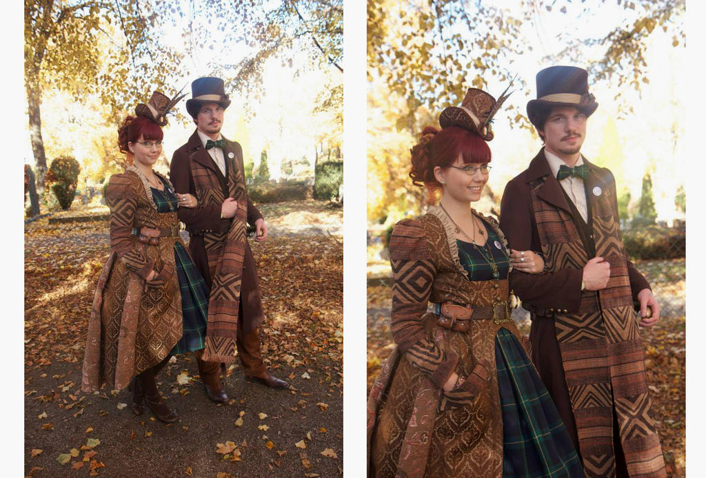 Steampunk Convention Outfits by ImperialFiddlesticks