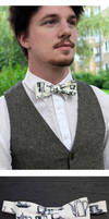Coffee Lover Standard Bow Tie