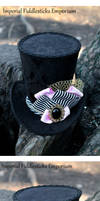 Wonderland Wonky Top Hat Commission for Kirsty