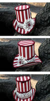 Peppermint Panache Mini Top Hat