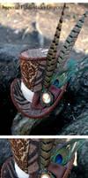 Steampunk Patchwork Top Hat