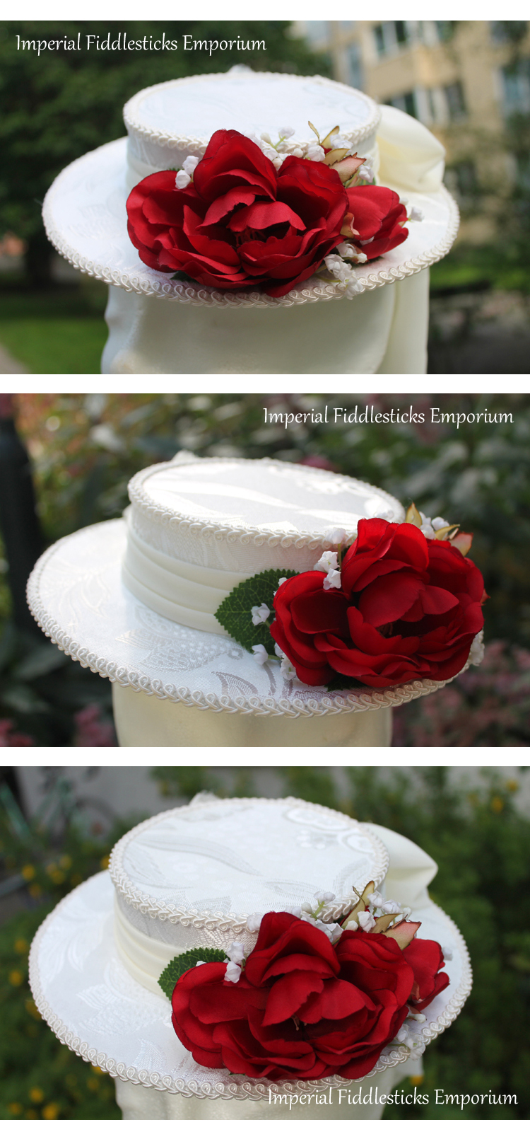 Love Everlasting Mini Boater Hat