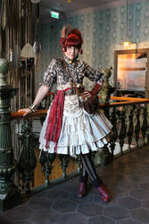 Steampunk Pirate Outfit by ImperialFiddlesticks