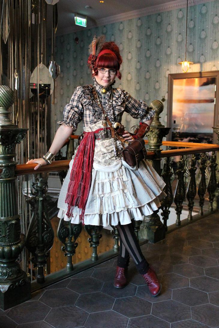 Steampunk Woman Art