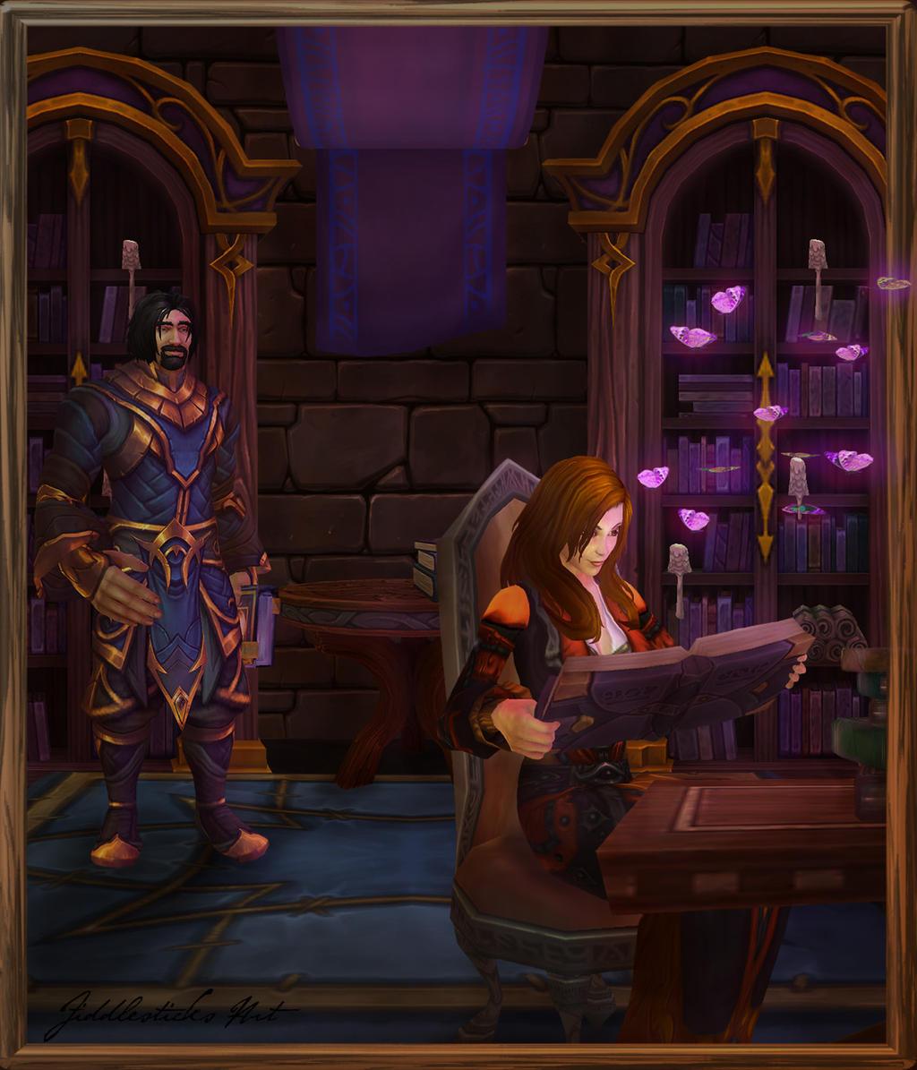 Commission: Magical Studies