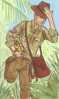 Indiana Jones by mmmmmpig