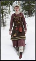 Winter Viking girl