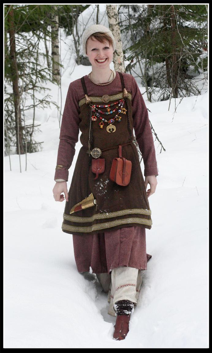 Winter Viking girl by VendelRus on DeviantArt
