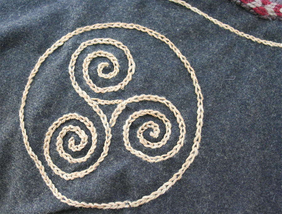 Viking Embroidery Close Up By VendelRus On DeviantArt