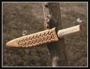 Anglo saxon seax sheath