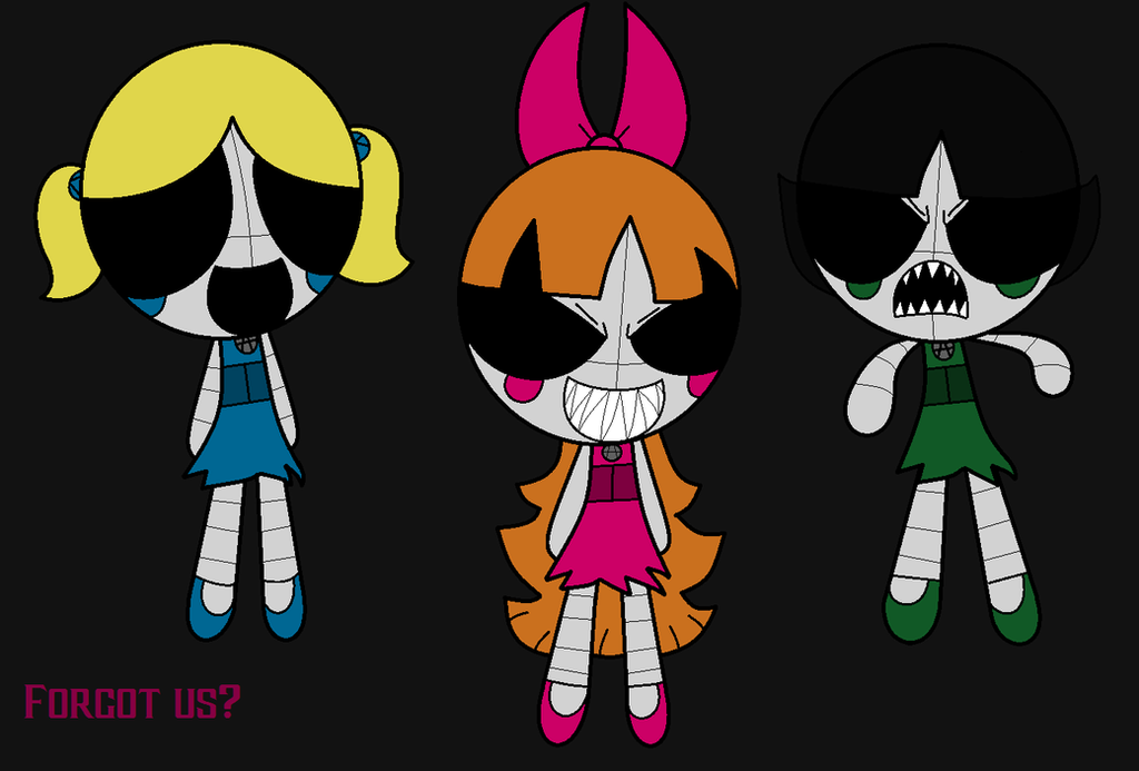 Sinister Funtime Puff Girls by Misse-the-cat