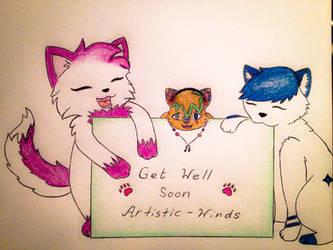 Get well soon Artistic-Winds! :) by vampsaiyain