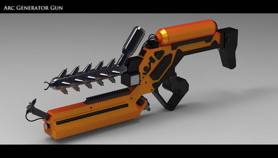 Arc Generator gun by Akiratang