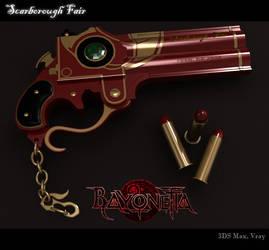 Bayonetta Scarborough Fair Gun